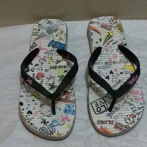 PINK VS Flip Flop Sandals